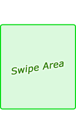 swipe hot area